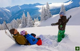 Familienurlaub im Winter in Gastein